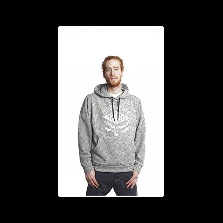 BLUZA TURBOKOLOR - TK HOODIE - HEATHER GREY.