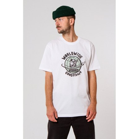 KOSZULKA TURBOKOLOR T-SHIRT CONSPIRACY WHITE