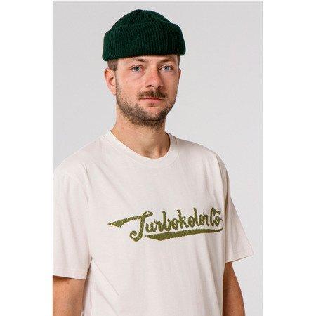 KOSZULKA TURBOKOLOR T-SHIRT FAT SIGNATURE ECRU