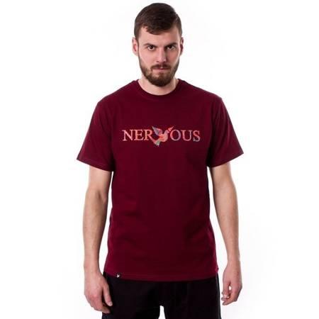 T-SHIRT NERVOUS CLASSIC ACID MAROON