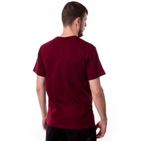 T-SHIRT NERVOUS CLASSIC ACID MAROON