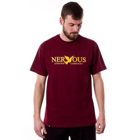 T-SHIRT NERVOUS CLASSIC MAROON