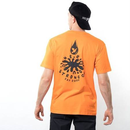 T-SHIRT NERVOUS DROP ORANGE