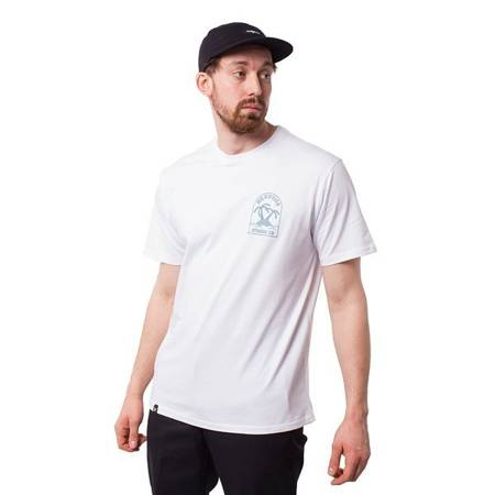 T-SHIRT NERVOUS ISLAND WHITE