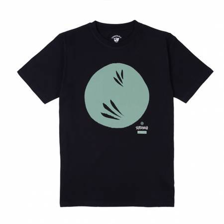 TURBOKOLOR T-SHIRT RISING SUN BLACK